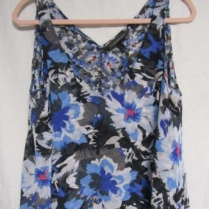 Lane Bryant Sleeveless Tiered Blouse